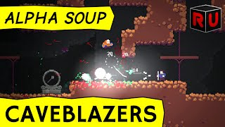 Caveblazers gameplay: Spelunky with better combat? [Steam Early Access game]