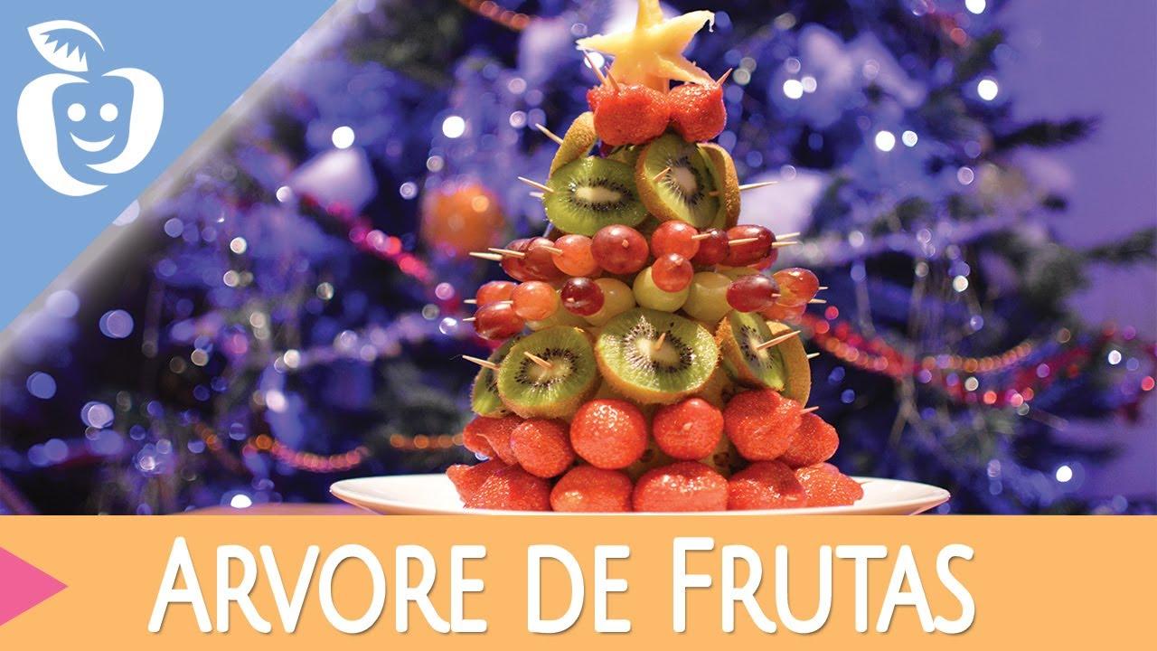 Fim de anoÁrvore de Natal Comestível (com frutas) YouTube -> Decoraçao Com Frutas Para Ano Novo