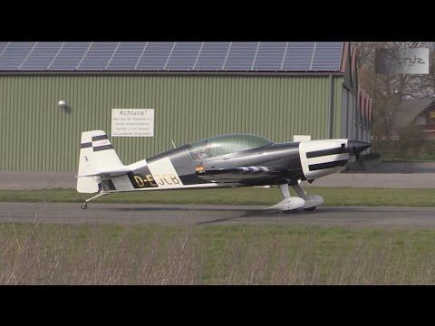 Plane Spotting at Flugplatz Damme 02-04-2016 : Nice variety of general aviation aircraft