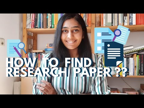 How To Search & Download Research Paper ? | Free Resources