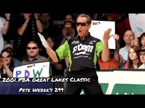 2001 PBA Great Lakes Classic - Pete Weber