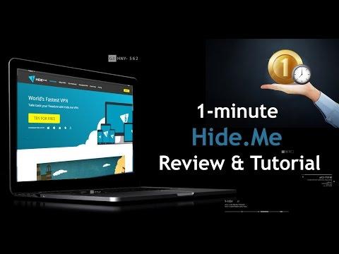🥇 1-minute Hide.Me VPN Review & Tutorial 2018 ⭐⭐⭐