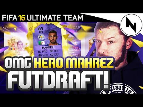 OMG 83 HERO MAHREZ FUT DRAFT!! - FIFA 16 Ultimate Team