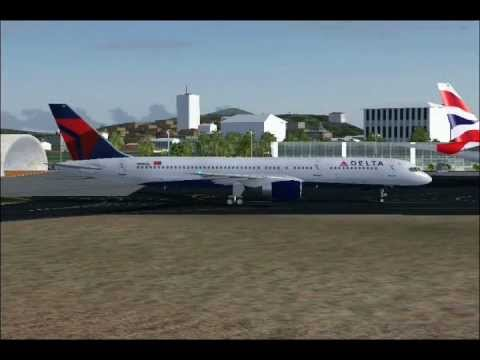 St. Kitts Robert L. Bradshaw airport AI Traffic (FS2004)