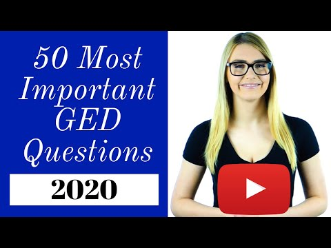 GED Math 2020 - Pass The GED With EASE