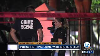 West Palm Beach Police to use shot spotter technology to fight crime