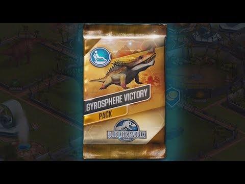 GYROSPHERE VICTORY VIP Pack - Jurassic World The Game