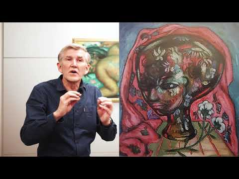 Prof Karel Nel on Fleurs du Mal by Alexis Preller