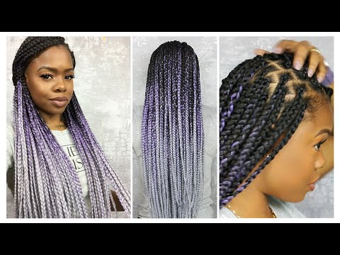 How to Box Braid Like A Pro | Protective Style | MariaAntoinetteTV