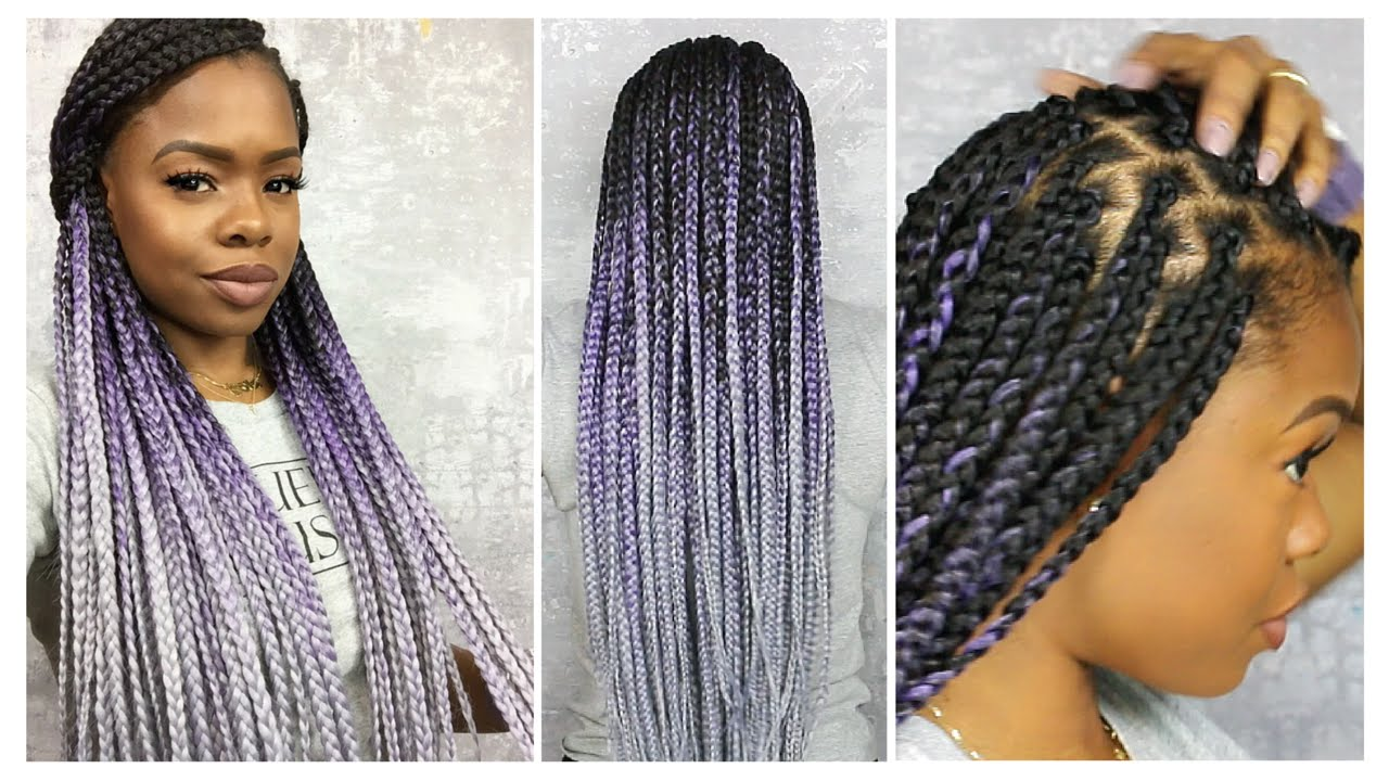 How to Box Braid Like A Pro   Protective Style ...