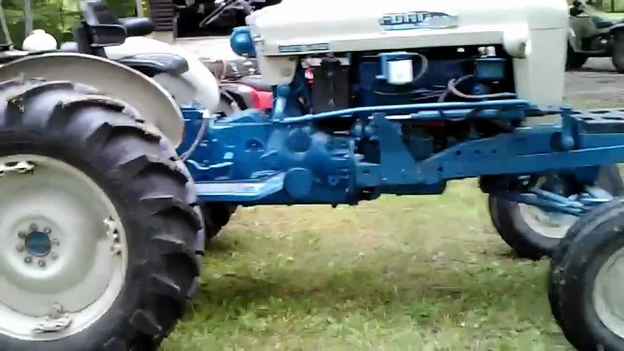 Ford 4000 Diesel Tractor : Ford tractor parts