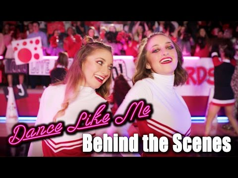 Draft Behind the Scenes of Dance Like Me (Official Music Video) | Brooklyn and Bailey