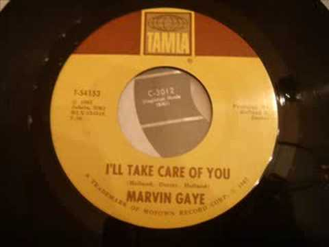Rare Soulful Ballad - Marvin Gaye - I'll Take Care Of You