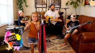 """Colt Clark and the Quarantine Kids play """"Miss You"""""""