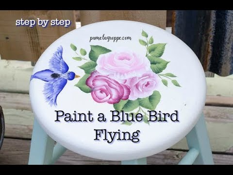 How to Paint a Bird in Flight