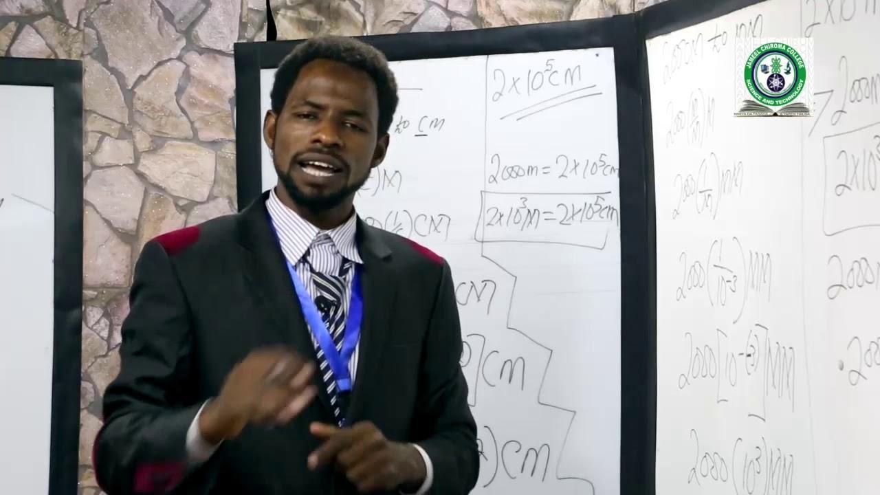 Download #(JCCKANO) #PHYSICS #MEASUREMENT & #UNIT #CONVERSION IN #HAUSA #LANGUAGE