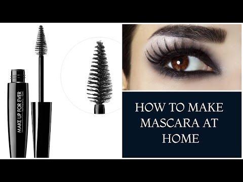 DIY WATERPROOF MASCARA/HOW TO MAKE MASCARA AT HOME