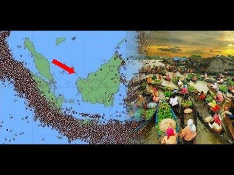 ANTI GEMPA!! Apakah Benar?? Pulau Kalimantan Aman Dari Gempa