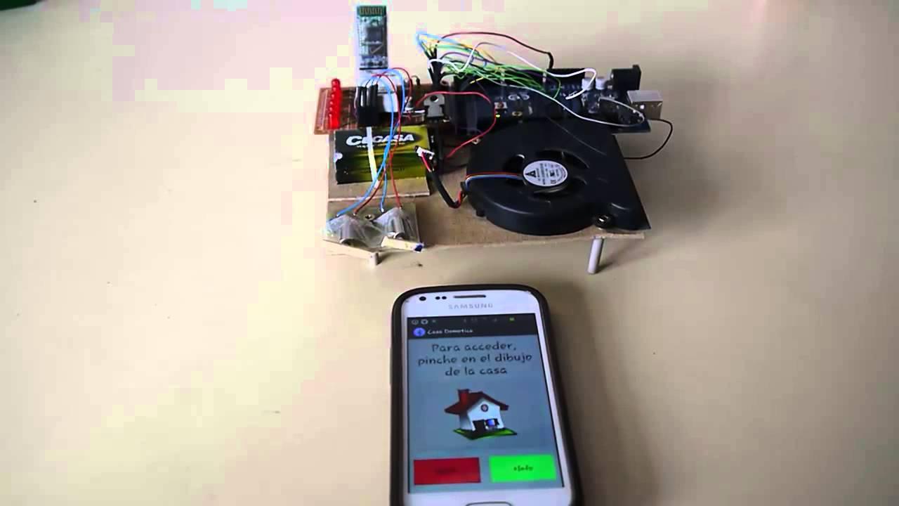 Proyecto casa domotica arduino android y bluetooth