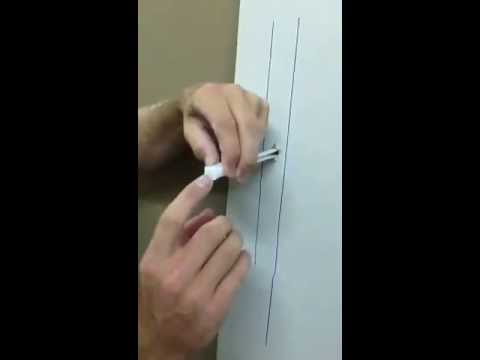 How to Installing Metal Stud Bolts for a TV Wall Mount