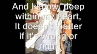Nick Carter - I see heaven in your eyes (With lyrics)