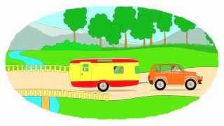 Zeichentrick-Malbuch - Die Wohnmobile