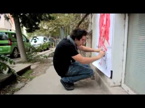 Azerbaijan Street Art Project: Day 4
