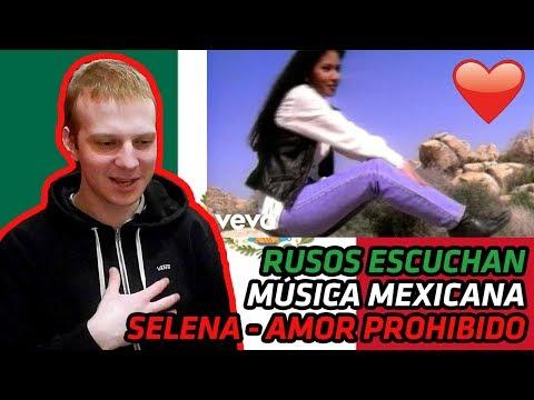 RUSSIANS REACT TO MEXICAN MUSIC | Selena - Amor Prohibido | REACTION