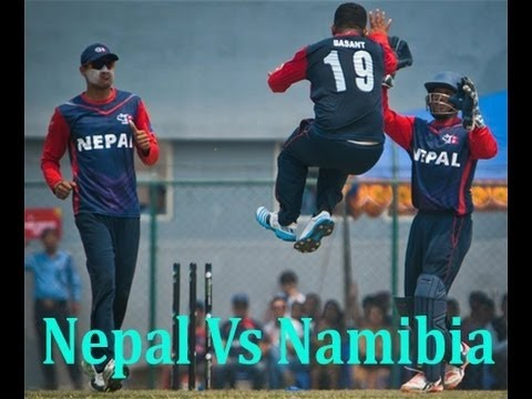 Nepali Cricket Amazing Winning Moment vs Namibia at 18th April 2016