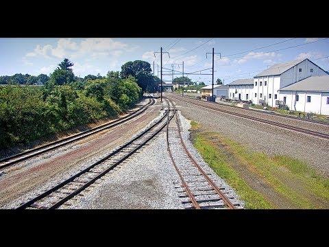 Paradise, Pennsylvania USA | Virtual Railfan LIVE