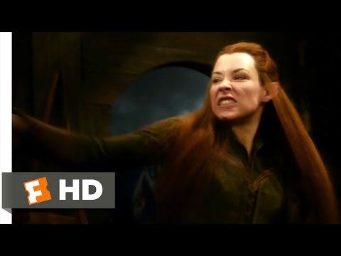 The Hobbit: The Desolation of Smaug - Legolas and Tauriel Scene (7/10)   Movieclips