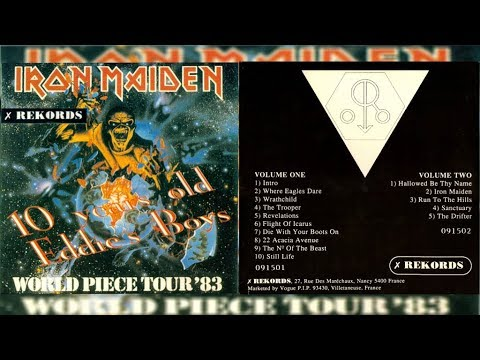 Iron Maiden 10 Years Old Eddie's Boys Vol 1 1983 (Full Bootleg Album)