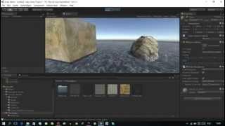 Видео урок по Unity 3dсоздание простой сцены