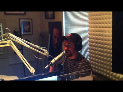 Blaine Holcomb sings 'A Long Way From Nashville' in Big Frog 104 Studio