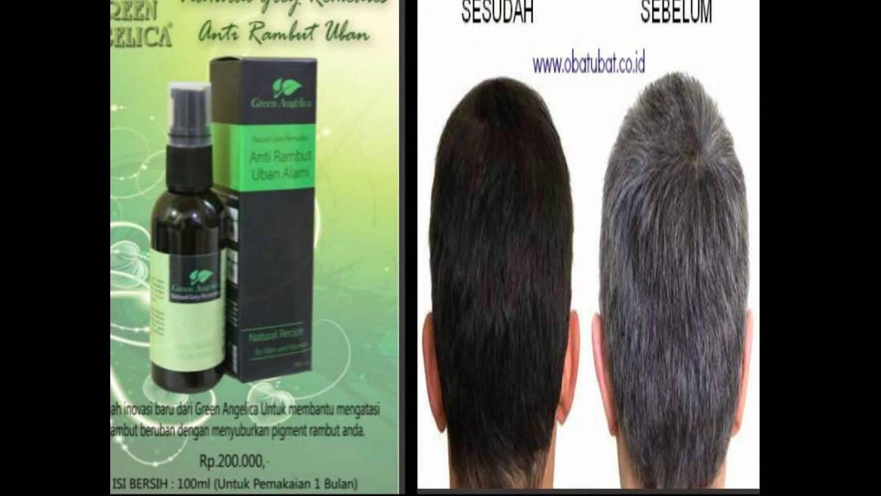 Penghitam Rambut Uban Green Angelica Herbal