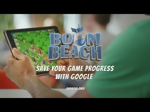 Boom Beach - Save Your Game Progress! (Google Play/Android)