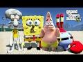 Gta 5 Spongebob Patrick Mr.krabs Squidward Mod - Saving Mr.krabs Business Ep.3 video
