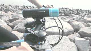Trendwoo Waterproof Wireless Bluetooth Bicycle Speaker with Selfie Function and LED Lighting