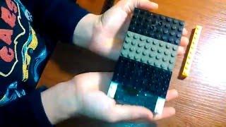 Видео урок как собрать копилку из лего.
