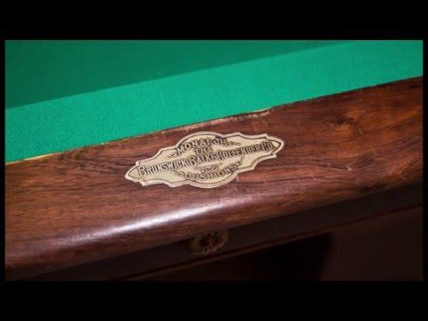 1905 Brunswick Balke Collander Pool Table