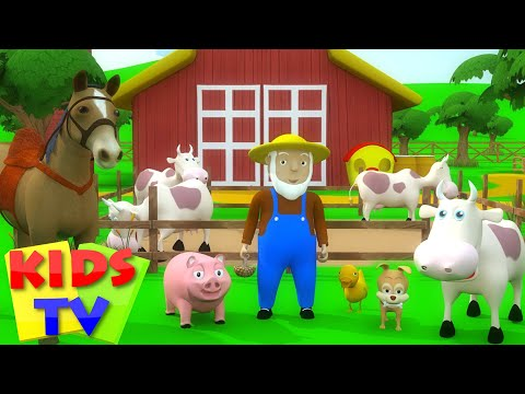Kids TV Nursery Rhymes | Old MacDonald Had A Farm | Old Macdonald For Kids | Kids Tv Songs