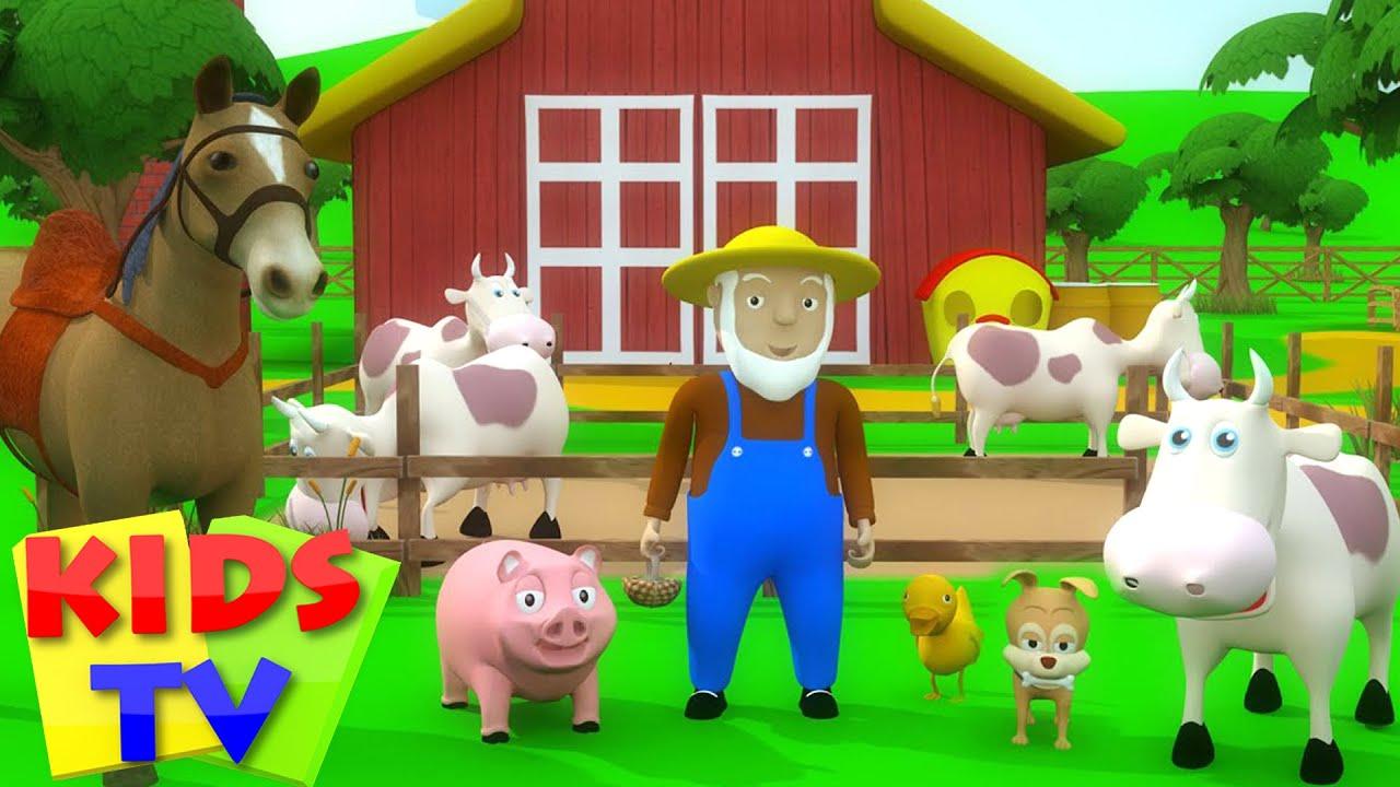 Kids Tv Nursery Rhymes Old Macdonald Had A Farm Old