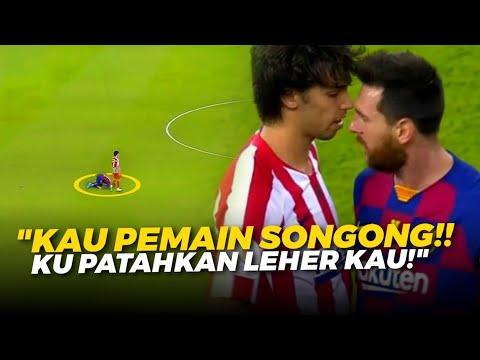 MESSI KETAKUTAN ‼️ Lihat Keberanian Joao Felix Tantang Messi