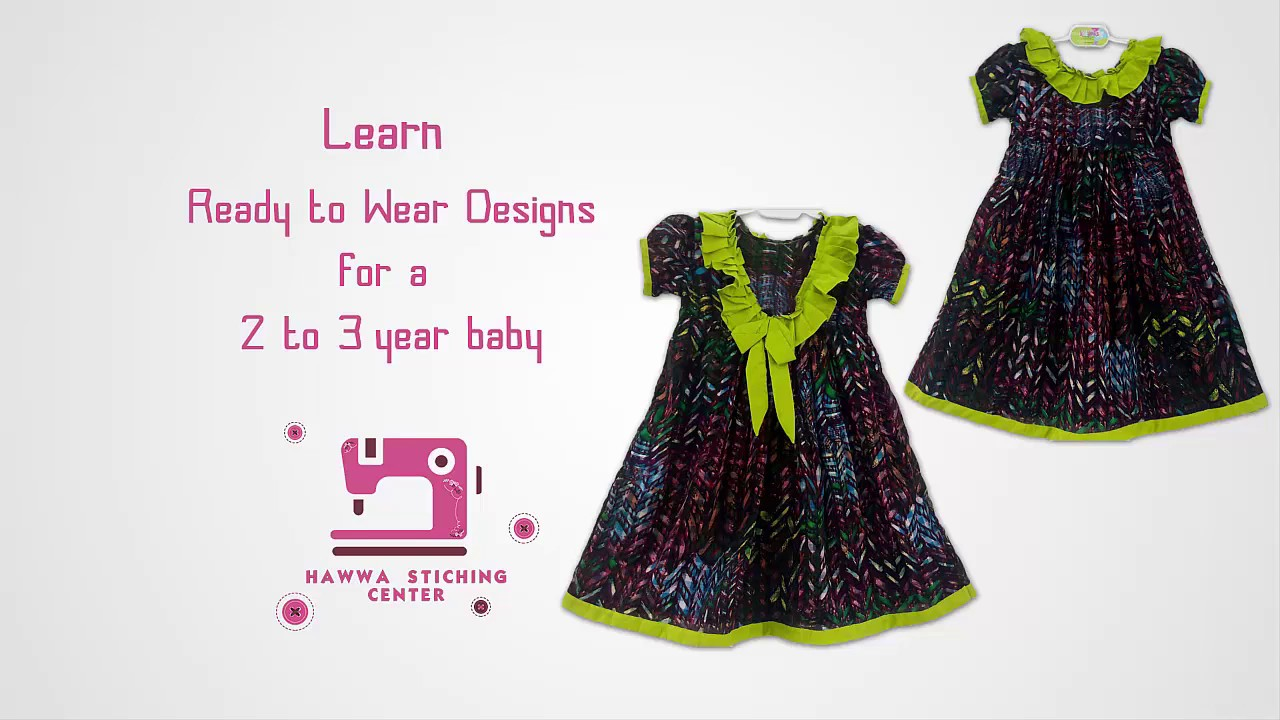 aaf0b32a3 2 TO 3 Year BABY frock Design♥ ♥.| Latest Design - YouTube