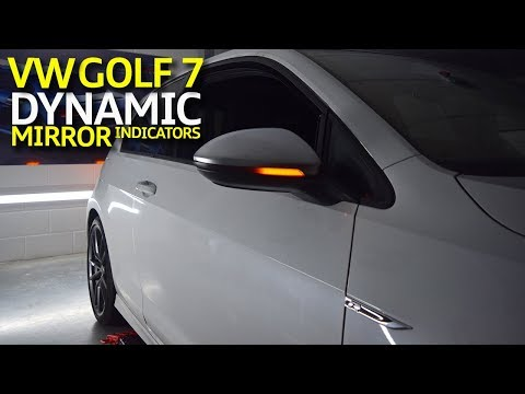 Volkswagen Golf 7 & 7.5 Dynamic Mirror Side Indicators