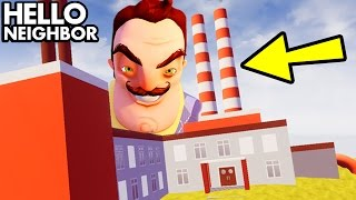 Hello Neighbor 'ALL NEW SECRET OUTSIDE MAP LOCATIONS' (Hello Neighbour Game Secrets, Funny Moments)