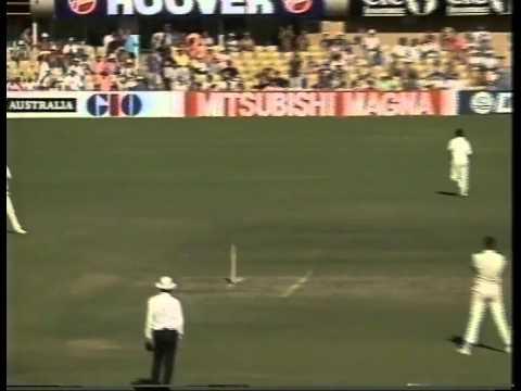David Gower 123 vs Australia 3rd test SCG 1990/91