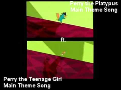Phineas & Ferb - Perry the Teenage Platypus Girl (Remix)