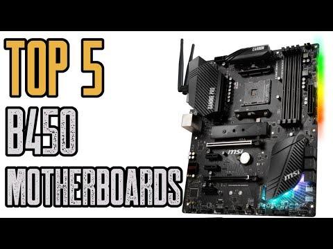 Best B450 Motherboards | Top 5 B450 Motherboards!