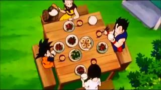 DBZ  Food Scene -  Lunch at Gohan
